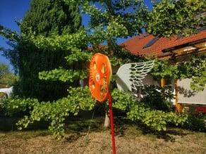 """""""winged"""" pinwheel"""