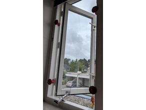 Portable Airconditioner window clips