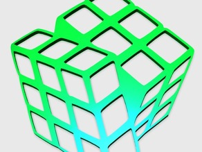 Rubic Cube Pendant