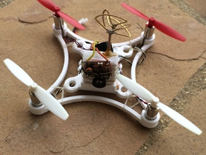 Minimal frame for 65mm props and 8.5mm motors