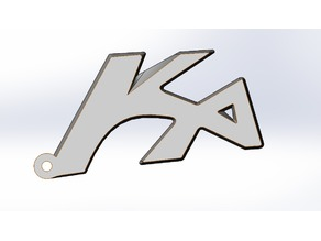 Ford Ka Keychain