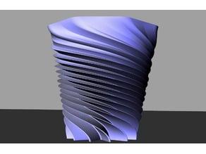 Impossible Twist Vase
