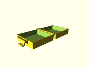 Buckle Box with hinges, somewhat parametric