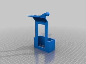 Raspberry Pi holder with balloon holder for Anycubic i3 Mega