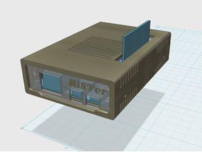 MiSTer - Case Slim v1.0 (vertical SDRAM mount only)