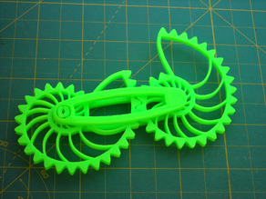 Nautilus Gears With Modified Bar