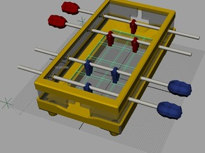 things tagged with 39 foosball 39 thingiverse. Black Bedroom Furniture Sets. Home Design Ideas