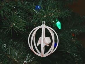 Christmas Ornament Pug Dog