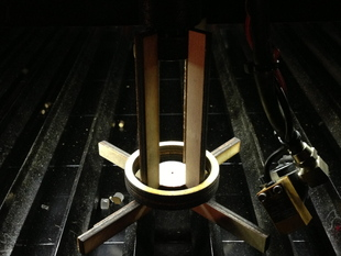 Laser Cutter Z-Axis Parametric Alignment Jig