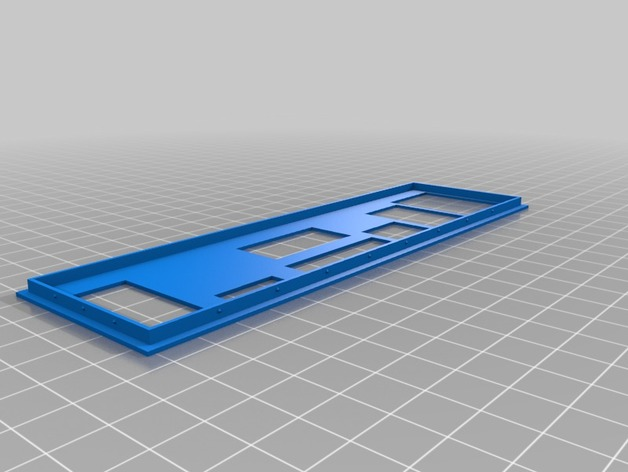 Motherboard Backplate (Customizable) and ASUS M3A78-CM backplate by