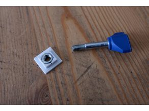 Replacement nut for Dremel trio