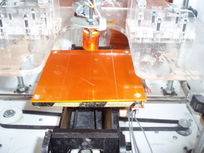 Heated build base using FR4 copper clad board