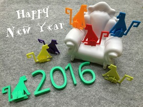 Monkey for New Year, 2016