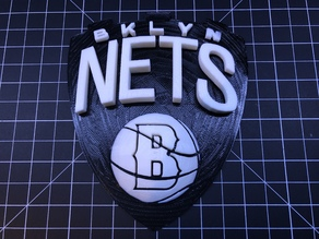 Brooklyn Nets Plaque