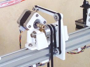 Bed Hoist for a 3D Printer - Final Version