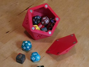 D20 Countdown die (dice holder)