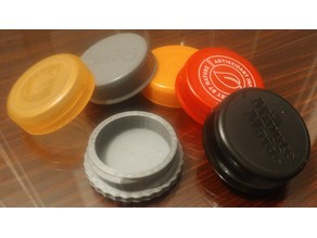 Sports Drink Lid Pill Case