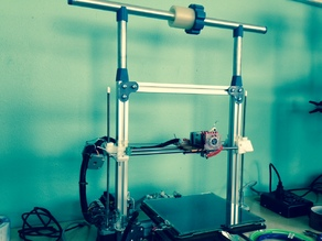 Bukobot 8 v2 Printer Spool Holding System