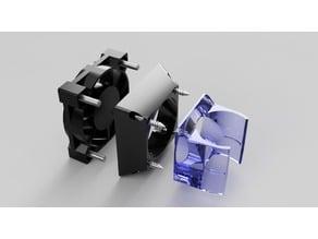 E3D 30mm to 40mm fan adapter