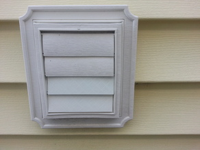 Vent Cover Replacement Louver