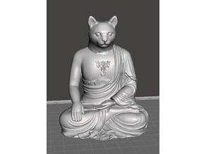 Buddha Cat Ganesha
