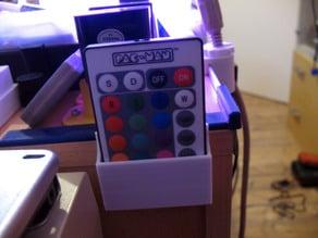 Halterung für Fernbedienung einer Pac-Man Lampe