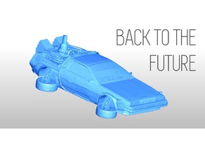PRINTABLE DeLorean DMC-12 - Back to the future