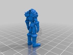 [MAZ3DP] MAZ Custom Mendel i2 - 3DP printing output