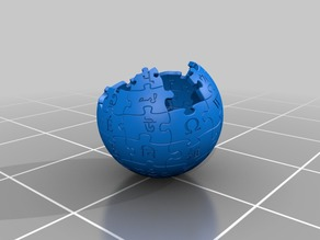 Wikipedia Complete Full Printable Globe