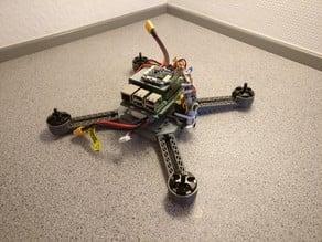 Autonomous Drone Frame (Raspberry Pi + Naze32 FC)