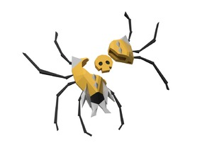Gold Skulltula with Token