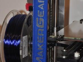 MakerGear M2 faceplate