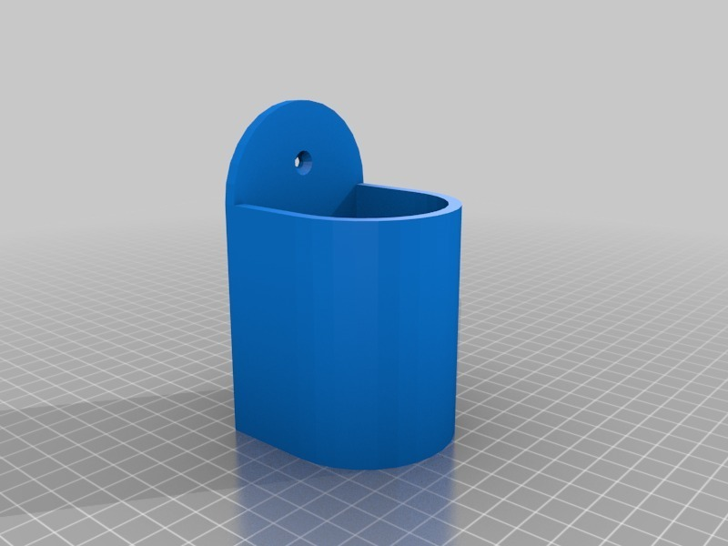 Image Of Wall Mount Pen Holder Thingiverse