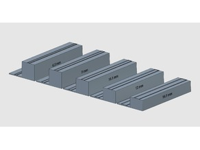 6.5 - 16.5 mm display stands