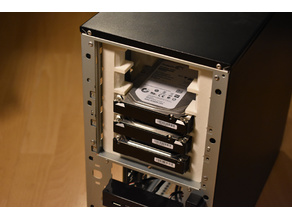 "4x5.25"" to 5x3.5"" drive bay adapter"