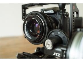 Canon FD 55mm f/1.2 SSC seamless lens gear