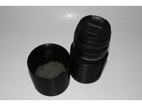 2-size lens case for canon EF-S 18-55 and 75-300