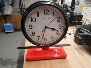 Wall Clock Stand with Feeler Gauge Holder