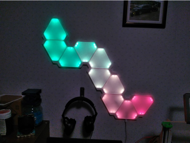 Nanoleaf Light Panel Replica By Harvahammas