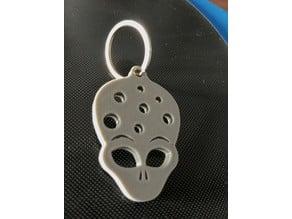 Alien Heads Keychain - portachiavi teste alieno