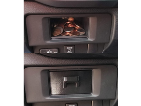 Toyota Tacoma Coin Drawer