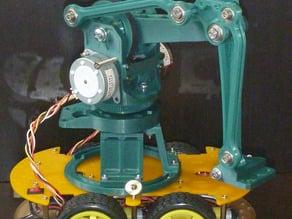 Desktop Robot Arm (Florin's design with minor modificaqtions)