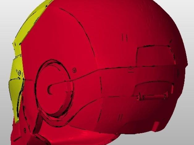 Motorised Iron Man Helmet CostumeChallenge By Retur