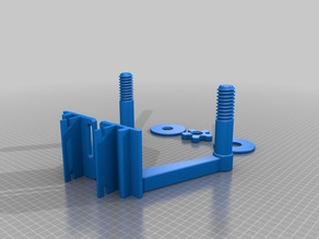 Threaded spool holder 40/40