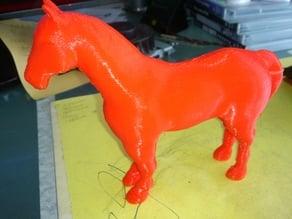Horse from 3D Printer LeapFrog
