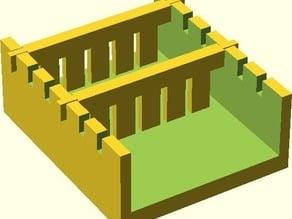 HobbyGel - The Parameterised, Makerbot-Printable Gel Casting Kit