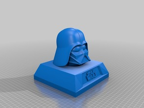 Darth Vader with base stand, single piece print