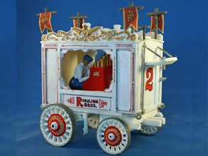 Circus Air Calliope Wagon c.1920 Kit