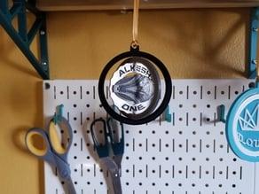 Alkesh makercoin ornament
