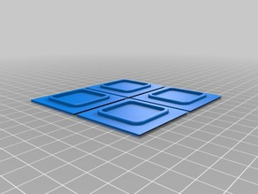XYZPrinting Da Vinci 1.0/2.0 Duo/AiO Corner Caps/Covers